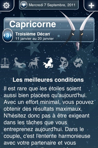 screenshot mogor horoscope iphone